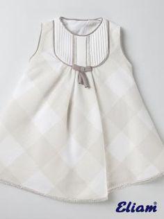 Vestido piqué de cuadros - Productos bebé de siempre - Bebé de siempre -  Tienda… ea554c5f123