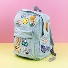 Viele einzigartige Patches und Rucksäcke zum verzieren bei DIBSY! Patches, Shops, Backpacks, Bags, Handbags, Tents, Taschen, Retail, Purse