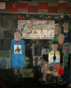 Preparation for Entry into Jerusalem (1955/1956) by Peter Blake