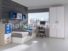 Подростковая комната в современном стиле