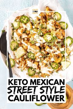Healthy Low Carb Recipes, Ketogenic Recipes, Keto Recipes, Shrimp Recipes, Ketogenic Diet, Low Carb Side Dishes, Side Dish Recipes, Vegetable Recipes, Cauliflower Side Dish