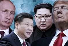What's next for Trump after A supervillain alliance with Kim Jong-un, Xi Jinping and Putin? Trump may actually consider replacing the trans-Atlantic alliance with a new anti-democratic team of despots Putin Trump, New China, Billy Graham, What Next, Republican Party, Current Events, American History, Acting, Funny
