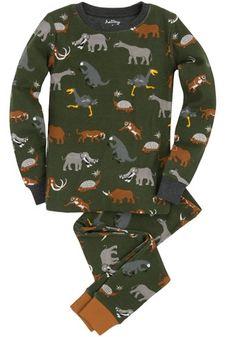 Extinct Prehistoric Animal Pyjamas