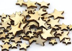 Pack of Mixed Size Natural Wood Color Little Star Shaped Wooden Crafting Sewing Scarpbooking DIY Buttons Over Home Depot Christmas Decorations, Diy Crafts For Home Decor, Cheap Home Decor, Decorating Your Home, Decorating Blogs, Home Decor Catalogs, Home Decor Online, Home Decor Store, Home Decor Outlet
