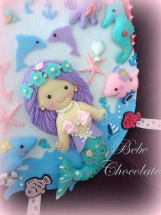 keçe bebek kapı süsü, felt baby, baby room decoration, aydede kapı süsü, kapı süsleri, arabada bebek var, felt marmaid,