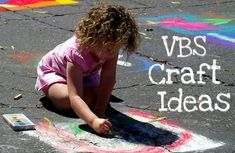 VBS Crafts: Vacation Bible School Crafts--great for churches like mine that can't afford expensive VBS curriculum and need flexible vbs ideas