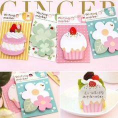 Lovely Cartoon Sticker Post It Bookmark Marker Memo Pads Index Flag Sticky Notes