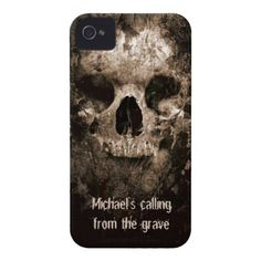 personalized skull iphone case