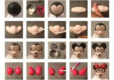 Disney mini mouse fondant tutorial