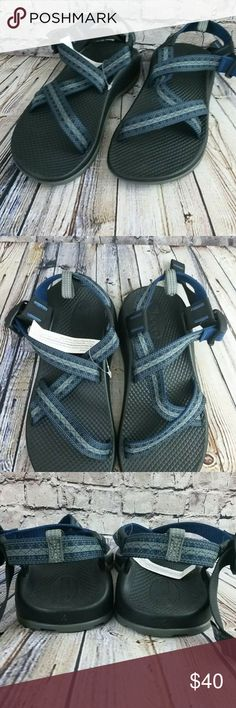 8f222f1169bd Chaco Z1 Ecotread Kids Stakes Bleu Sandals Size 4 For sale is a Chaco Z1  Ecotread