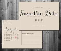 Here Is A List Of Beautiful And Free Save The Date Templates - Save the date postcard template