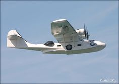 One of few surviving airworthy Catalina sea-planes.