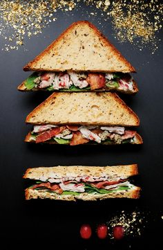 Discover our Gluten Free Turkey Christmas Sandwich in M&S Foodhall.
