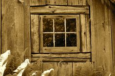 Potting Shed Window - At the Berkshire (Mass.