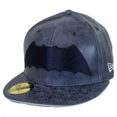 DC Comics Batman 9Fifty Fitted Leather Baseball Cap available at  Loehmanns  Leather Baseball Cap 52cfb528c
