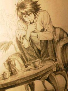 重森 - Death Note - L