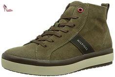 Tommy Hilfiger  STACY 1B, Baskets pour femme - Marron - Braun (CUB 219), 40 EU (6.5 Femme UK) EU - Chaussures tommy hilfiger (*Partner-Link)