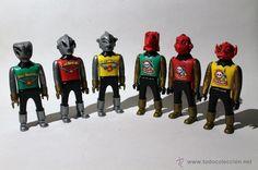 AIRGAM BOYS - 6 ALIENÍGENAS - SERIE SPACE ESPACIO - RED PLANET - SPACE ADVENTURER - AIRGAMBOYS-ALIEN
