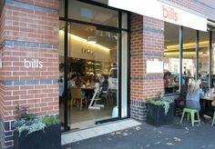 Bill's - Broadsheet.  433 Liverpool Street, Darlinghurst.