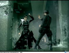 To re-create Neo�s incredible range of moves THE MATRIX: PATH OF NEO will also feature a more sophisticated martial arts engine to give gamers the true feeling of being the One. Description from games.gamepressure.com. I searched for this on bing.com/images
