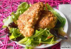 Poulet pané aux fruits secs  http://www.dziriya.net/saveurs/article8.php?p=3454&title=poulet-pane-aux-fruits-secs