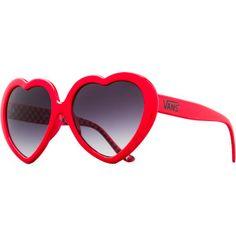 Heart Sunglasses - Womens