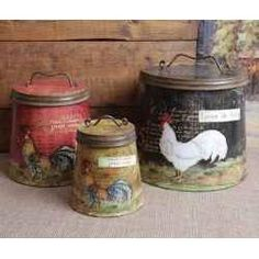 Country Rooster Kitchen Decor