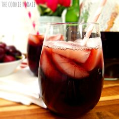 Chocolate Covered Cherries Sangria