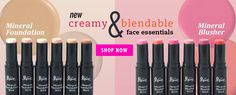New Creamy & Blendable Face Essentials http://www.2ndlovecosmetics.com/catalogsearch/result/…
