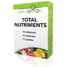 Total Nutriments de #diethorizon Digestion Difficile, Stress, Acide Aminé, Personal Care, Diet, Sleep Issues, Vitamins, Self Care, Personal Hygiene