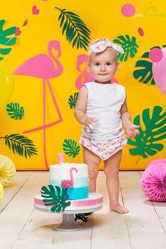 Первый тортик/Cake smash, фотосессия первого Дня рождения ребёнка в Киеве - Юлия Мамренко