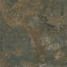 So we don't have to do underlayment work, and for cost savings, contemplating a sheet vinyl like this for kitchen, front entry, garage entry and downstairs bathroom. Dark to blend with dark Pergo, will look good and be easy to clean, best choice flooring for water areas. Final choices yet to be made.    Designers Image Platinum Series Vinyl Tile  Shadow Slate 12