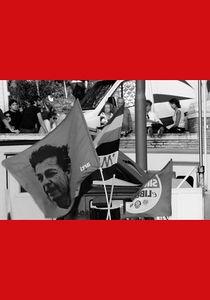 Italien Fahne Berlinguer 2009.jpg