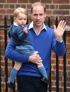 El príncipe George ya conoce a su hermana - Foto 3