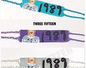 Taylor Swift 1989 album bracelets on shop315.etsy.com #taylorswift #1898 #handmade #etsy #friendshipbracelet