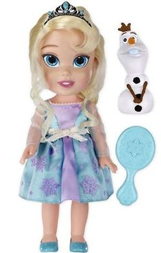 frozen doll from mattel, disney store will probably be cuter!