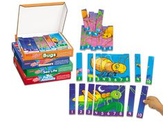 Number Sequencing Puzzles - Complete Set