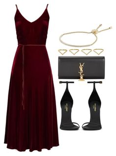 """#14796"" by vany-alvarado ❤ liked on Polyvore featuring Undress, Yves Saint Laurent, Michael Kors and Ana Khouri"