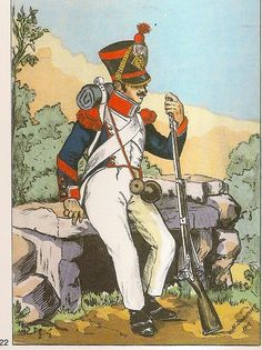 French; 8th Line Infantry, Grenadier Corporal, Tenue de Route, 1813