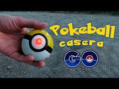 Cómo hacer una POKEBALL casera que bota - POKEMON GO (Experimentos Caseros) - YouTube