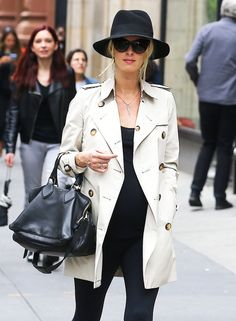 Nicky Hilton's Undercover Bump