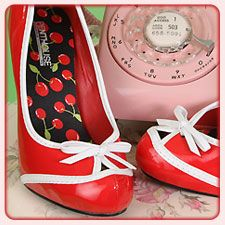 Retro Shoes & Pumps | Rockabilly Shoes & Vintage Style Pumps, Peep Toe Pumps, Retro Mary Jane Shoes, Pin Up Girl Style Shoes, Burlesque Shoes and more!