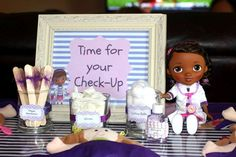 """Doc McStuffins """"Time for your check-up"""" Birthday Party Ideas 