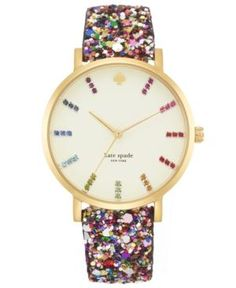 great gifts: fun kate spade watch