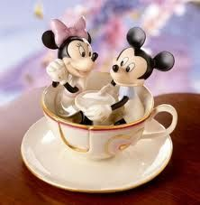 disney cake topper. SO PERFECT FOR MY TEACUP OBSESSION.