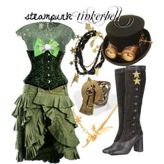 Steampunk Tinkerbell by princesschandler on Polyvore