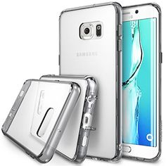 Galaxy S7 Edge Plus Case, Ringke [Fusion] Crystal Clear PC Back TPU Bumper [Drop Protection/Shock Absorption Technology][Attached Dust Cap] For Samsung Galaxy S7 Edge Plus - Smoke Black Ringke http://www.amazon.com/dp/B01AM9115G/ref=cm_sw_r_pi_dp_ihpOwb1GX3P59