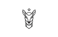 Line-art logos/icons. on Behance