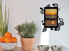 4x Fotorahmen Kreise 10x15 - Wandtattoo Set von DOON Germany auf DaWanda.com