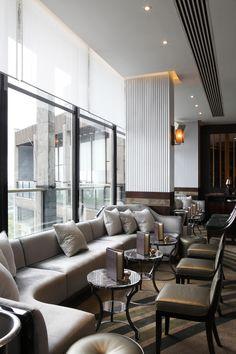 Galvin at Windows Bar (London, UK) Central Design Studio - Restaurant & Bar Design